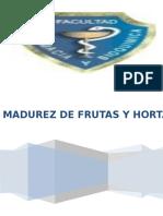 Postcosecha - Indice de Madurez