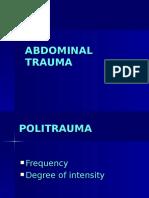 Abdominal Trauma2