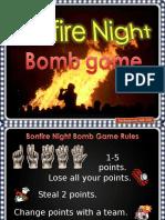 Bonfire Night Bomb Game