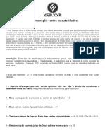 Estudo Da Celula - 01022015 - A Murmuração Contra as Autoridades