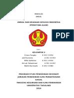 Amdal Dan Keadaan Geologi Indonesia