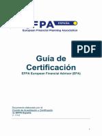 Guia Certificacion EFA