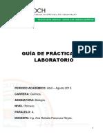 Guía de Prácticas de Laboratorio Biología