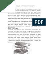 Model Data Spasial Di Dalam Sistem Informasi Geografis