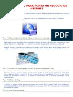 UN PROYECTO PARA PONER UN NEGOCIO DE INTERNET.docx