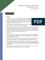 Clasificación y Descripción de Los Campos de Fuerzas