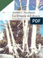 Nussbaum Martha - La Terapia de - Teoria Y Practica en La Etica H