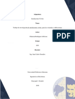 Trabajo de Investigación de Instalaciones Civiles, Para Las Viviendas y Edificaciones