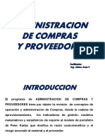 Administración de Compras y de Proveedores