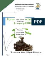Formas Especiales de propagación vegetal