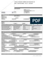 Solicitud Para Otorgar Nº de Registro Calderas y Autoclaves