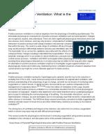 Paper Efeitos Da PEEP Na Hemodinamica Pulmonar