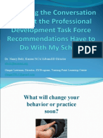 What the PD Task Force Recommendations