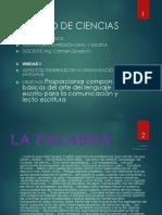 Clase 2 Aspectos Generales de La Organización Del Lenguaje