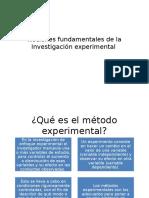 Nociones Fundamentales de La Investigación Experimental