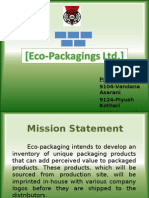 Eco Packaging Lmtd