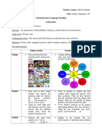 Communicative Language Teaching Lesson Plan