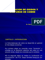 LIXIVIACION de Oxidos y Sulfuros