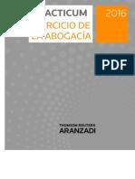 00 Indice Aranzadi Practicum Ejercicio de La Abogacia 2016