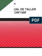 Manual Taller Honda CRF150F
