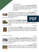Regiones de Chile Economia 1