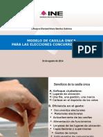 PresentacionCasillaUnicaASG Periodistas