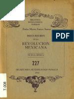 Precursores de La Revolución Mexicana. Pedro Anaya Ibarra