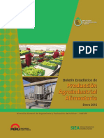 Boletin Estadistico Prod Agroindustrial Ene16
