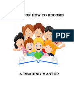 Keys on How to Become a Reading Master
