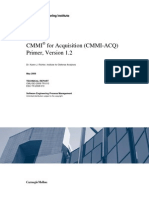 CMMI for Acquisition (CMMI-ACQ) Primer, Version 1.2