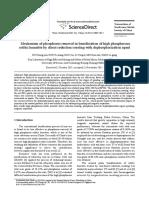 Tostación y Separación Magnetica Para Defosforación