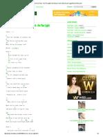 Kunci Gitar One Ok Rock - Be The Light Chord Dasar Kunci Gitar & Lirik Lagu ©ChordTela.pdf