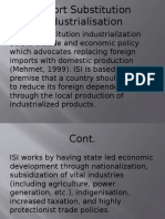 Import Substitution Industrialisation [Repaired]