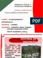 YaruMayo presupuesto