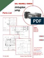 300Q 5 Quintuplex Plunger Pump Parts List