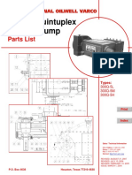 300Q 5 Quintuplex Plunger Pump Parts List