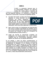 Casos Prácticos Tercera Clase - Curso Derecho Administrativo.docx