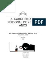 Alcoholismo en Personas de 20 a 59 Años