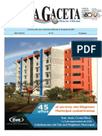 Diario oficial de Costa Rica 31_08_2016