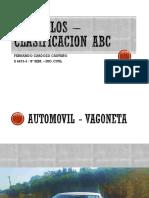 04 Vehiculos – Clasificacion ABC