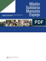 Misión Solidaria Manuela Espejo. Estudio biopsicosocial genético de las personas con discapacidad en Ecuador