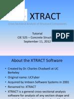 XTRACT Fall2012 Manual