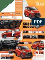 Sienta Catalogue 2016