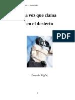 La Voz Que Clama en El Desierto - Damián Stiglitz