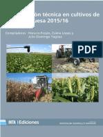 Inta Barrow - Actualizacion Tecnica en Cultivos de Cosecha Gruesa 2015-16