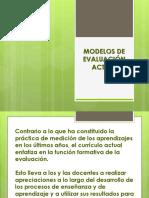 Charla Modelos de Evaluacion Actual