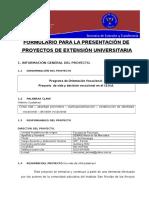 Pro Yec to de Extensión 2010
