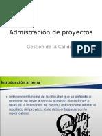 Admistración de Proyectos 2