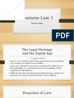 business law 1 powerpoint presentation