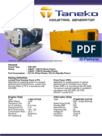 TNK135P Taneko Industrial Generator (Tnk Jkt)
